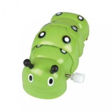 Wind Up Clockwork Caterpillar - Colours may vary