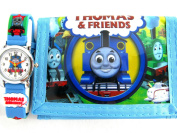 THOMAS THE TANK ENGINE New Children's Wrist Watch with Wallet