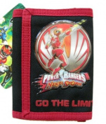 Power Rangers Wallet : children wallet (Red) [Toy]