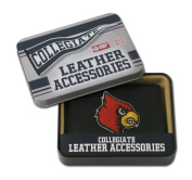 Rico Ncaa Louisville Cardinals Embroidered Trifold Wallet