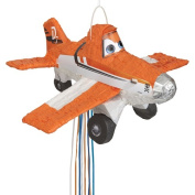 Disney Planes Pinata, Pull String, Orange