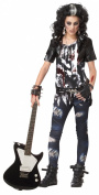 California Costumes Toys Rocked Out Zombie Large