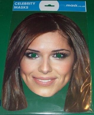Cheryl Cole Celebrity Face Mask
