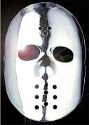 Silver Hockey Face Mask Jason Friday 13Th Halloween Fancy Dress