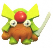 Moshi Monsters Moshling Figure - Series 1 - ULTRA RARE GENERAL FUZUKI - #082