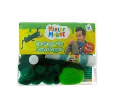 Mister Maker Springer the Grasshopper