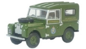 Oxford Diecast Land Rover S 1 88 Civil Defence # 76LAN188001