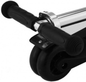 iScoot© Pro v2 Tilt Kickboard Mini T-Bar 3 Wheel Kick Scooter Bobbi Board for Boys / Girls / Children - Black