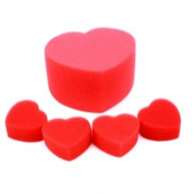 BestOfferBuy Jumbo Sponge Heart Prop Party Magic Trick Set