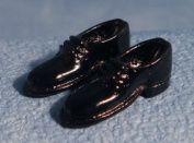 Dolls Houses - Accessories - Black Shoes - D1484