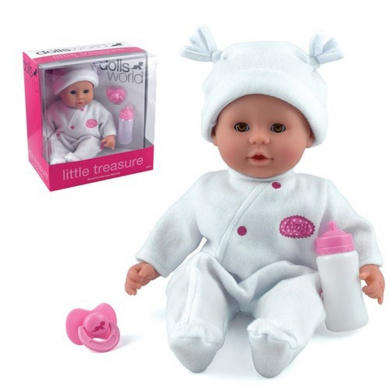Dolls World Little Treasure (White)