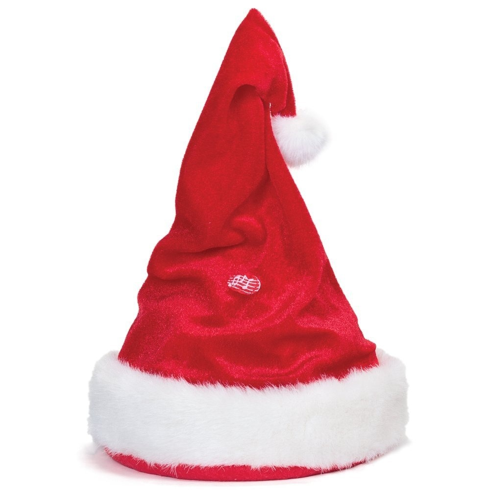 74828a8a35459 Singing And Dancing Santa Hat by Tobar - Shop Online for Toys in ...