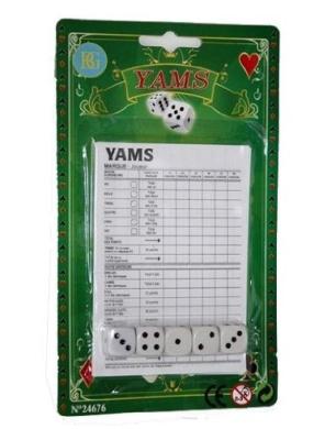 Dice Game Yahtzee