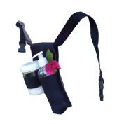 Rapport Double Massage Bottle Holster, Black