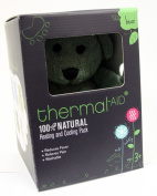 Thermal Aid 100% Natural Heating and Cooling Pack Green Bear