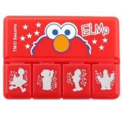 Elmo Pill Case