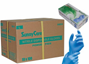 SUNNYCARE #8803 Nitrile Disposable Gloves Powder Free Size