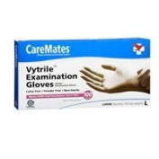 Caremates Caremates Vytrile-Pf Examination Gloves Large