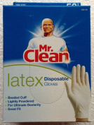 MR. CLEAN LATEX Disposable Cleaning Gloves for ULTIMATE DEXTERITY