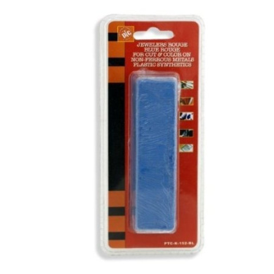 6 oz USA Blue Polishing Buffing Compound Rouge - Plastic, Synthetics - High Lustre