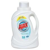 """Phoenix 125860cm Ajax"""" Ultra Free & Clear Liquid Laundry Detergent 32 Loads, 1480ml"""