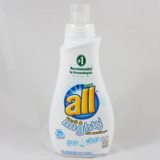 all Small & Mighty 4X super Concentrated Liquid Laundry Detergent, Free Clear, 1180mls, 53 loads