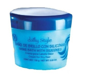 Daily Style Shine Bath with Silicones for Dry Hair, 160ml