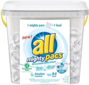 all Mighty Pacs Free & Clear HE - 84 Loads