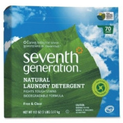 Wholesale CASE of 10 - Seventh Gen. Natural Laundry Detergent-Powder Laundry Detergent, Biodegradable, 3310ml, Natural