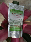 30 Moringa Tea Bags, in the Only No Oxidation Packaging in the USA