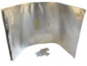 46cm x 60cm Aluminium Moisture Barrier Bag With Zipper Seal. Mylar!) - Includes a Free Silica Gel Packet!