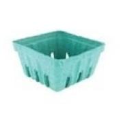 Pactiv 1 Pint Green Pulp Berry Basket