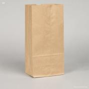 10 lb. Recycled Brown Paper Bag - 500 per pack