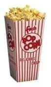 44E Open Top Popcorn Box, 500/Case