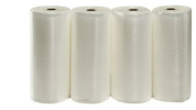 4 28cm X 50' Rolls of Weston Vacuum Sealer Make-Your-Own-Size Bags
