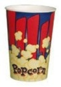 Red 710ml Popcorn Cup, 1000/Case
