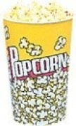 24 oz. Yellow Popcorn Cup, 1000/Case