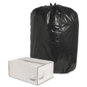 Nature Saver Trash Can Liners,Rcycld, 208.2-227.1l1.8Mil,100cm X150cm ,100/Box,Black