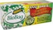 BioBag 11.4l Food Compost Bags, 25 CT