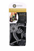 CastMedic Designs Sock-It Dressy, Black, Medium