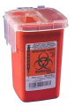 Sharps Container Biohazard Needle Disposal 0.9l Size