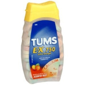 PACK OF 3 EACH TUMS E-X 750 ASSORTED BERRIES 96TB PT#766738896