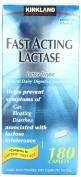 Kirkland Signature Fast Acting Lactase. Lactaid - 180 Caplets