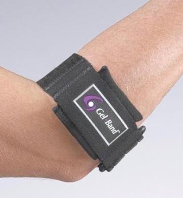 Gel Band Arm -Strap - Extra Small - Black - Each