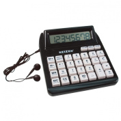 Reizen Talking Calculator with Repeat Key English