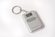 Talking Key Chain Clock with Alarm - English