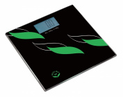 NewlineNY SBB0828-NYFL Digital Bathroom Scale, Flowing Leaves Sense On, 400 Pound Capacity