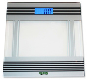Gurin Precision Digital Bathroom Scale w/ Extra Large Backlit Display and Auto-On Technology