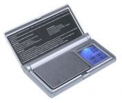 American Weigh Scale Amw-bs-250 Touch Screen Digital Pocket Scale, Silver, 250 X 0.1 G