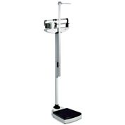 Seca 700LBS Physician's Mechanical Beam Scale with Height Rod and Wheels